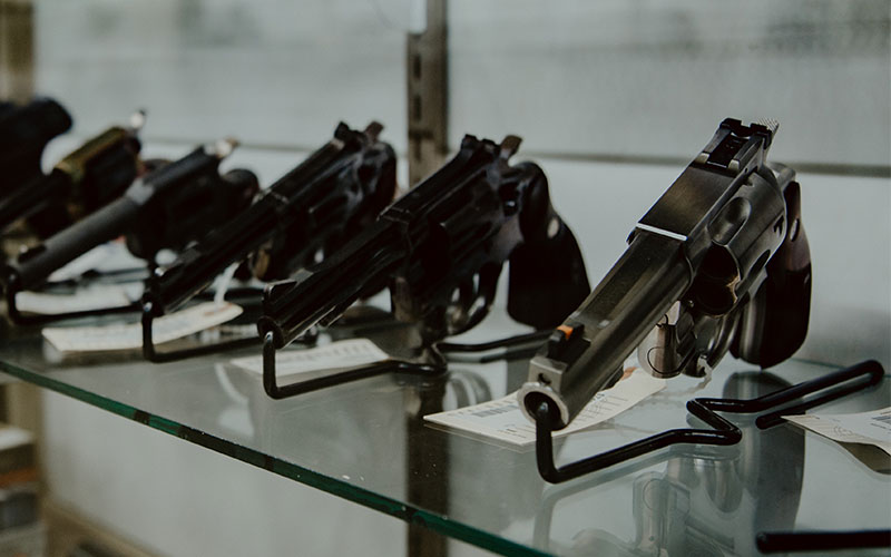 Guns Firearms at Alamo Pawn Shop in Panama City Florida