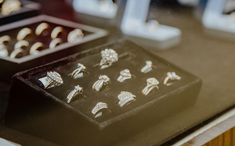 Shop for Jewelry at Alamo Pawn Shop in Panama City Florida